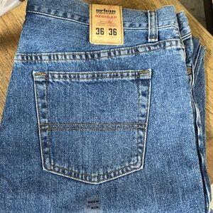 36 36 x/ Urban Pipeline Denim Jeans Men's